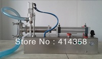 Free Shipping liquid or paste filling machine pneumatic, semi filler, single head by air power, no need electric