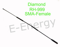 Free shipping Diamond Antenna RH-999 SMA-Female Dual band Antenna for UV5R 5RA TK3107 2107 PX-888K TG-UV2