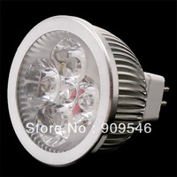 Hot selling x10pcs/lot MR16 4x3W CREE 220v High power Spotlight LED Bulb