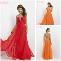 New Arrival Design A-Line Waistline Utterly Divine Strapless Chiffon Cheap Formal Prom Dress Long