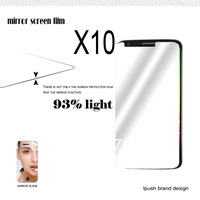 Free Shipping 10pcs/lot High Quality Cell Phone Mirror Screen Protector Films For LG G2 With Retail Package