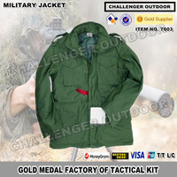 Alpha M65 military tactical army jacket for man