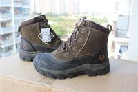 2014  Bass snow boots plus size men's boots 45 46 47 snow shoes waterproof 30