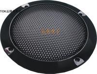 "4"" 4 black car speaker grille insert card speaker audio subwoofer speaker grille"