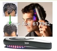 free shipping power grow laser hair comb ,MOQ 1 PCS, hair comb ,color box pack