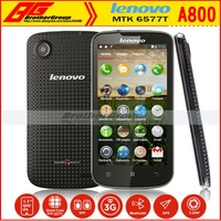 Free shipping Origina In stock New arrival lenovo A800 MTK6577 1.2GHz dual core 3G Android 4.0 Support Russian SG POST