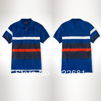 Free shipping big logo new 2013 fashion men polo shirts, casual shirt , brand men's shirt polo clothing