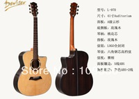 Auditorium 41in acoustic guitar high quality spruce with rosewood