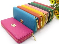 Free Shipping 2013 Hot Selling NEW designers brand wallets for woman High quality brand purse 8 colors
