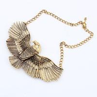 Vintage women necklace fashion designer necklace eagle style necklace free shipping