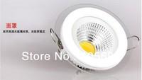 Free shipping 5w COB led down lamp /led shallow down lights AC85-365V 500LM CE RoHS