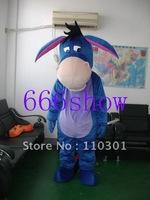 Eeyore DONKEY Cartoon    Adult Size Mascot Costume Halloween Christmas Mascot Costume