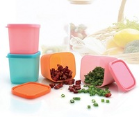 Free shipping plastic salt box spice jar brief fashion good quality seasoning box on hot sale