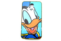 Hot Sale+Free Shipping Cute Cartoon  Blue Duck Hard Plastic + TPU Back Case For Samsung Galaxy Note3 N9000