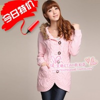 25 ETAM spring and autumn sweater wool cardigan women's 110216142 599