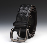 V13 2014 Style Belt Mens Luxury Real Leather Belts For Men Hot popular strap high quality plaid design belt