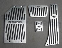 Free shipping for Hyundai Santa fe special pedal aluminium alloy pedal Santafe slip-resistant pedal wear-resisting pedal