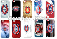 HOT  New design 10pcs/lots NHL Montreal Canadiens hard white case cover for iphone 5 5s 5th+ free shipping