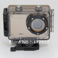 Mini Sports Camera Gopro3 with HD 1080P + Waterproof Underwater 60M + Waterproof Case + G-Sensor + 120 Degrees + Free Shipping