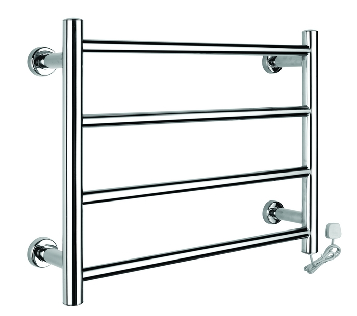 Wall Mounted Heated Towel Rack Stainless Steel Heated Clothes Rack With High