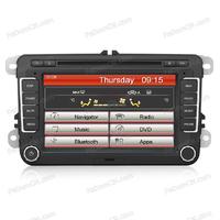 Hot Sales 2 din Car central multimedia with dvd player + gps navigation for VW Tiguan/Passat/Golf 6/Jetta
