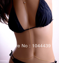 Hot 2013 New Free shipping Newest Fashion Gold Sexy Body Chain Body Jewelry