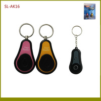 90dB 2 in 1 RF Wireless Remote Super Keychain Key Finder Alarm With 1 Keychain Transmitter+ 2 Keychains Receivers TypeB