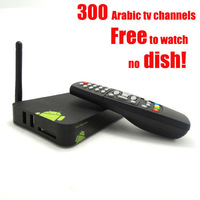 Newest free arabic tv box No monthly payment google internet tv TVEE LINKER with remote control over 600 free tv channels