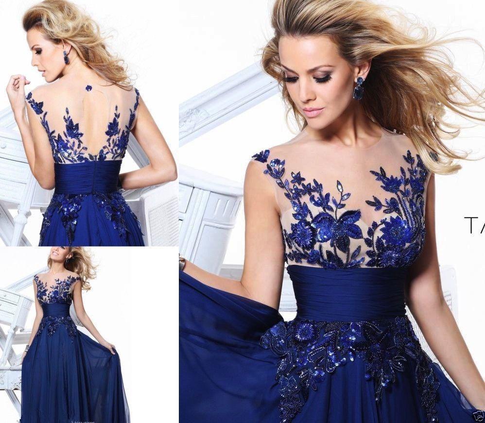 nouveau design de charme élégant 2014 livraison gratuite robes du soir en mousseline de soie appliques naturel arrivée de nouveaux
