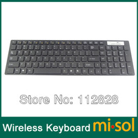 Free Shipping 1 PCS of 2.4GHz wireless keyboard, for Windows ME/NT/2000/XP/Vista/Windows 7
