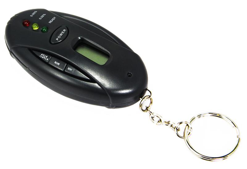 LED Display Mini Pocket digital Alcohol Breath Tester /Detector /Analyzer wholesale free shipping #200204(Hong Kong)
