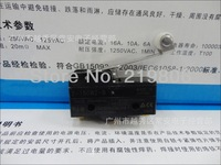 10pcs/lot Free Shipping High quality1x Z-15GW2-B Black Long Hinge Lever Type Actuator Machine Position Limit Switch