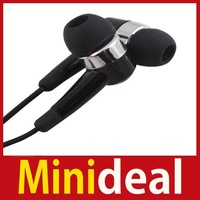 rising stars [MiniDeal] 3.5mm In-ear Stereo Headphone Headset Earphone w  Mic for Samsung Galaxy i9100 Hot hot promotion!