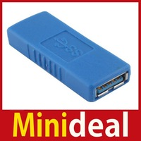 [MiniDeal] Standard USB 3.0 A Female to Female F F Connector Adapter Extension Coupler Hot