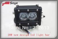2014 New Product 4 inch  20W led off road light bar  4x4 led driving light bar