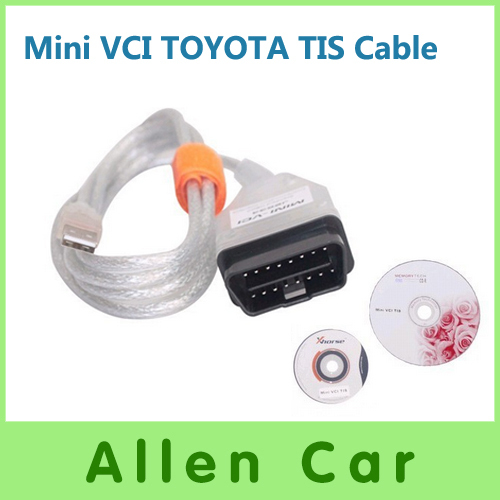Hot Sale High Quality MIni VIC Interface For TOYOTA /OBD Scan Tools With V8.10.021Software Version Free Shipping(China (Mainland))