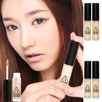Free shipping 3ce mini liquid concealer cream 2colors 6pcs/lot wholesale brand cosmetics makeup sample cover dark circle base