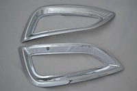 2pcs/set chrome front fog lamp cover fit for HYUNDAI IX35 tunson IX 2013-2014