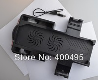 Free shipping dual fan cooling system design for Xbox one dual cool console stand