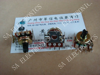 [BELLA]CTR 161 horizontal single- joint potentiometer B20K handle length 13.5MM half--10PCS/LOT