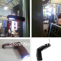 Rechargeable 21 LTD+5 LED hand lamp MST-7D 50pcs/lot