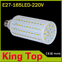 NEW 220V 40W E27 5730 165LEDs Led Lamp,E27 5730SMD CREE Chip Warm White White led Bulb Light Ultra bright Lamp Lighting 2lot/PCS