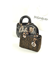 New 2013 hot sale women small bags PU 2 color gold silver  women handbag