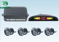 Free Shipping! Car LED Parking Sensor system parking Radar with LED display and 4 sensors wholesale