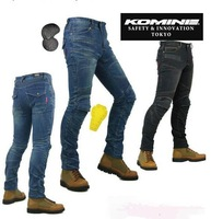 KOMINE PK718 breathable drop resistance clothing motorcycle jeans casual jeans+Anti-fall protection equipment-MAN