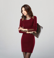 In 2013, fashionable women dress 45665