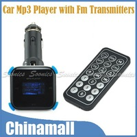 Detachable Design Car Mp3 Player With Fm Transmitters Radio Car Charger And Card Reader Free Shipping & Drop Shipping