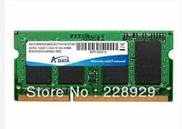 100% Original  DATA 2G DDR3 1333 MHz    notebook  Memory