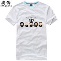 Cotton short-sleeve 100% T-shirt plus size dream theater - 4  100% Cotton custom logo