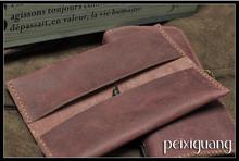 genuine leather pen case promotion